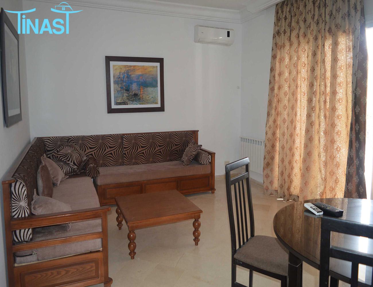 Un appartement s+2 à yassmine hammamet pour la location estivale