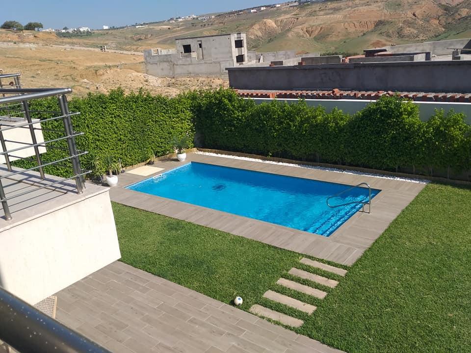 A vendre villa à jardin d'el menzah