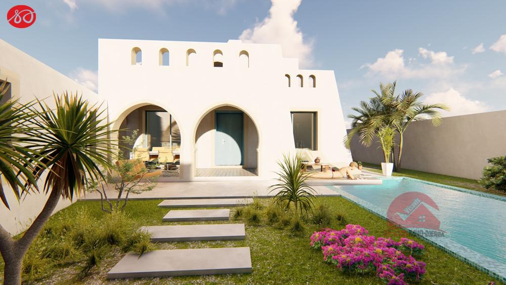 Modele projet cle en main d une villa a djerba houmt souk