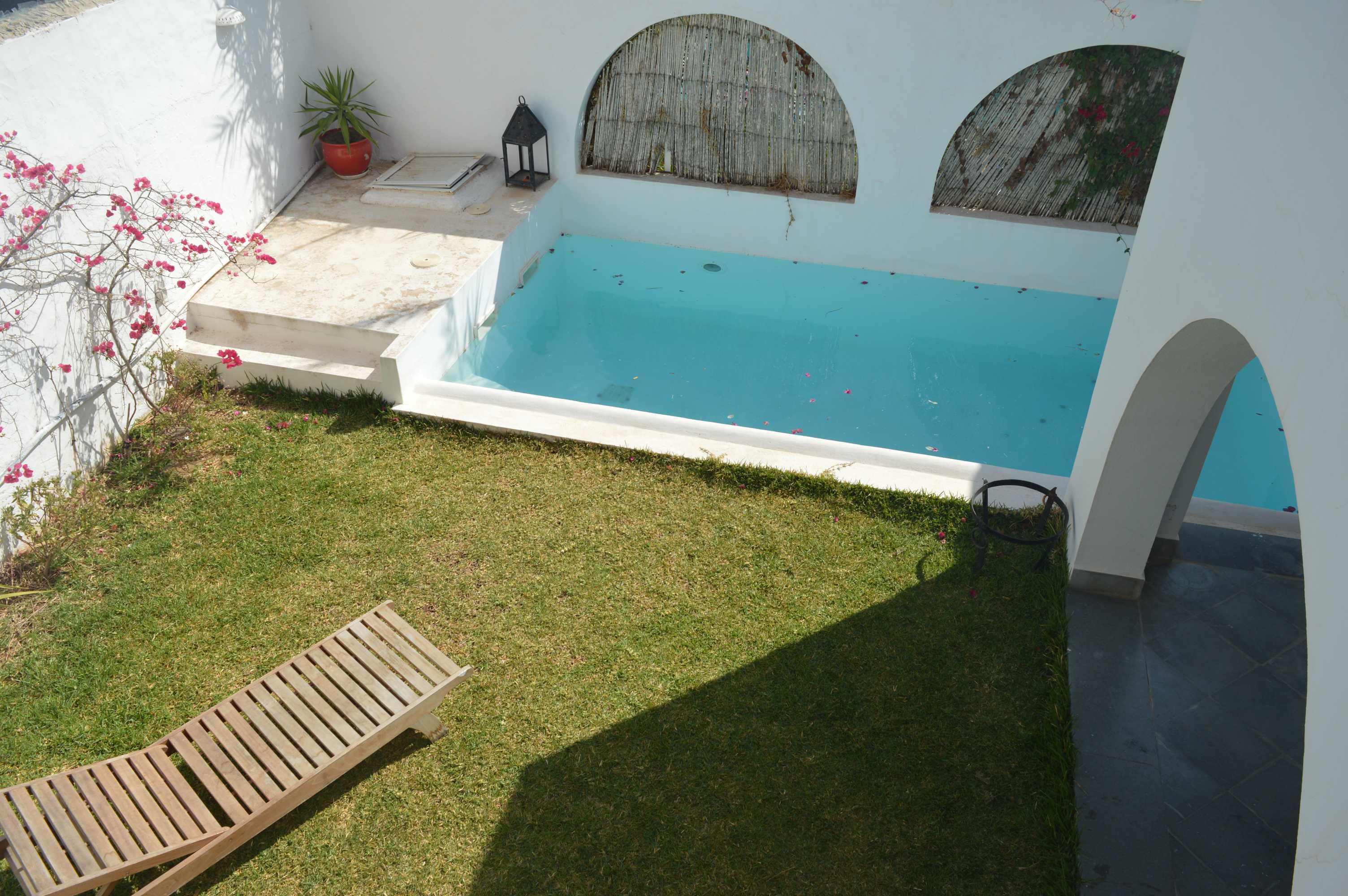 Une villa s+4 à craxi hammamet pour la location estivale