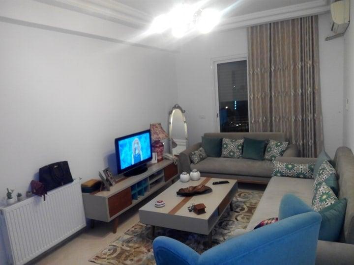 À vendre une bellle  appartement s+1 à ariana soghra