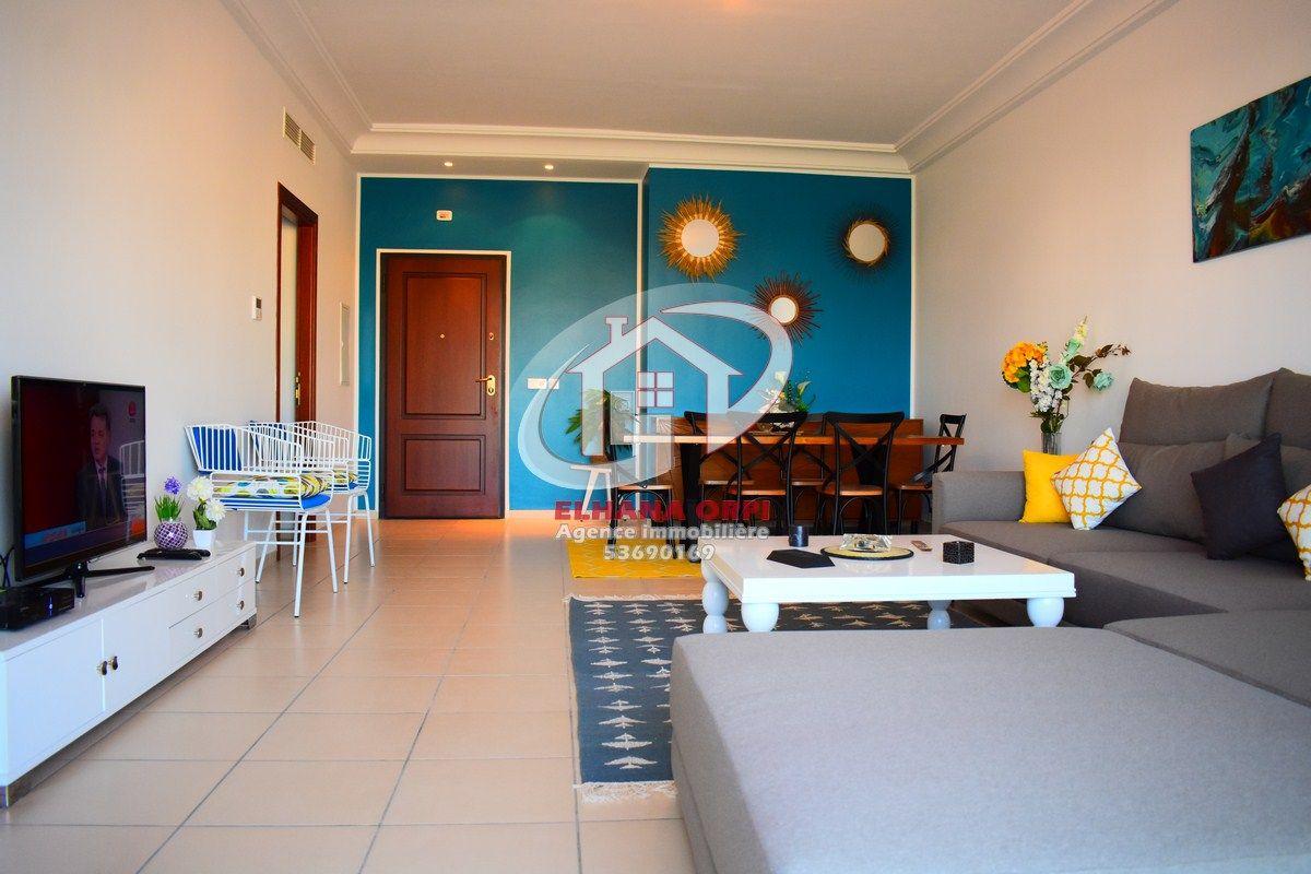 A louer appartement s+2 rz dyar el bahr luxueux vue sur mer