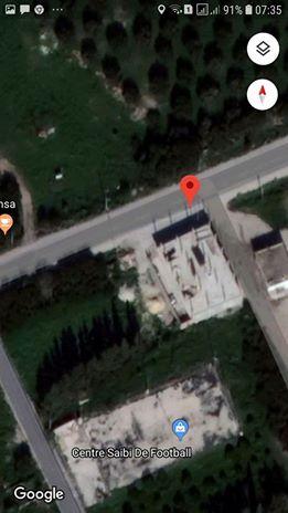 Av ou allouer dépôt 520m sur terrain 600m2 la route principale de borj touil