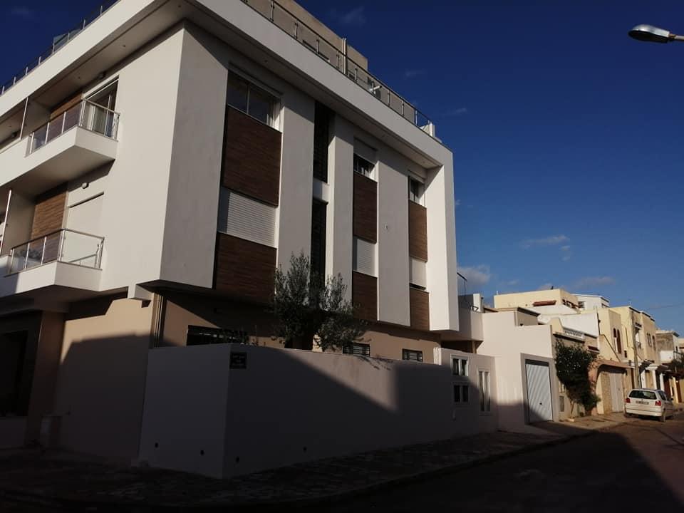 Appartement haut standing à cité la gazelle ariana