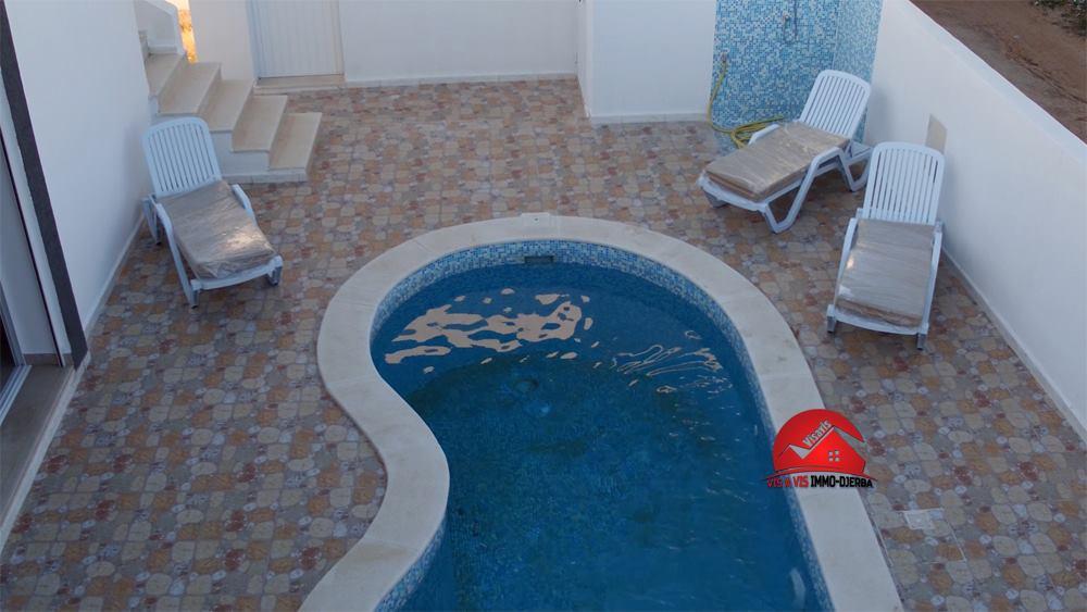 Location annuelle d une villa meublee a djerba houmt souk
