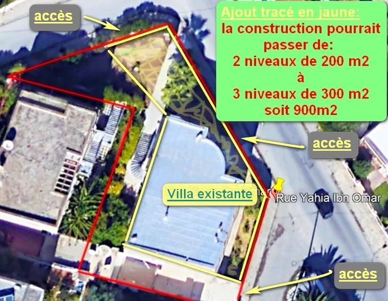 Terrain 735 m2 mutuelleville