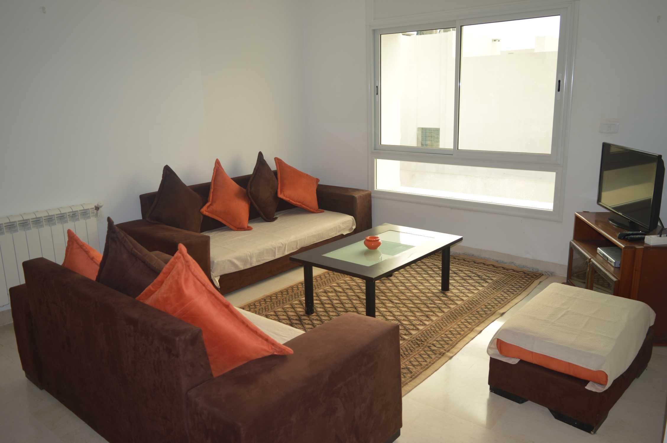 Un appartement s+1 à hammamet nord pour la location estivale