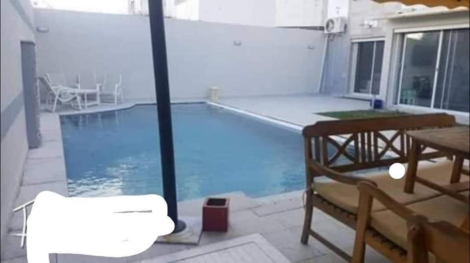 A vendre une belle appartement avec piscine a la marsa