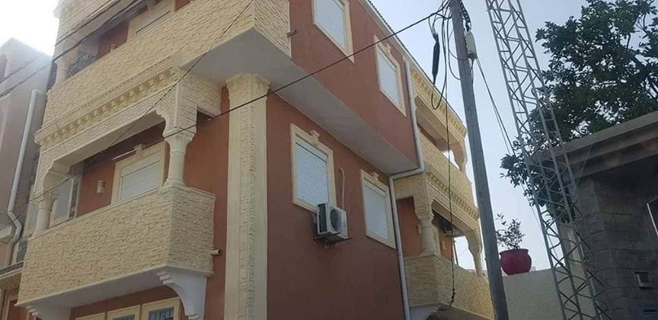 A vendre ou a échange trois appartements s+1  centre ville de zaghouan.