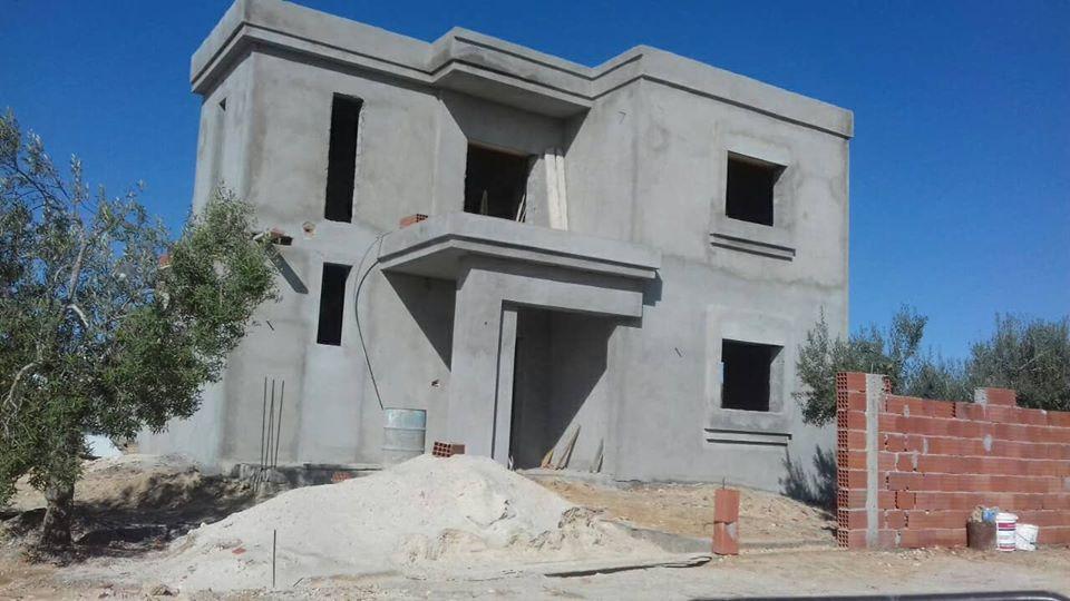 Vente villa inachevée houmt souk djerba