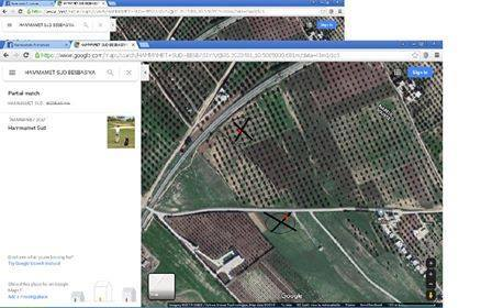 2 lots terrain a vendre besbasiya